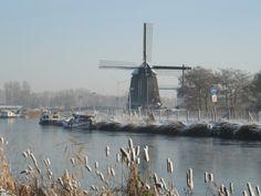 Mill Strijkmolen B (Zes Wielen), Oudorp, the Netherlands.