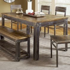 Modus Furniture 5M4761 Farmhouse Dining Table | ATG Stores