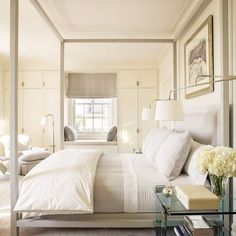 Time for our first room redo vote of 2017! Lets start it off with some gorgeous bedrooms. Starting with this gem by @markcunninghaminc So bright white and clean. Perfect inspiration for the new year Like it to vote now and the room with the most likes will be our next room redo! #CopyCatChic