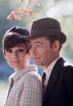 Publicity portrait of Audrey Hepburn and Peter O'Toole for 'How to Steal a Million' - 1966