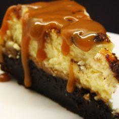 Culinary Secrets » Brownie Caramel Cheesecake