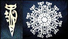 Creative Ideas - DIY Beautiful Paper Snowflakes from Templates | iCreativeIdeas.com Follow Us on Facebook --> https://www.facebook.com/iCreativeIdeas