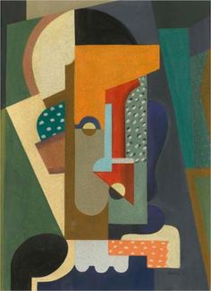 Auguste Herbin (French: 1882 – 1960) | Cubism | Untitled, 1913