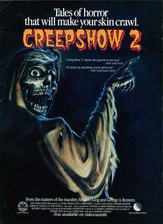 Creepshow 2 (1987) Stars: George Kennedy, Lois Chiles, Domenick John, Dorothy Lamour, Holt McCallany, Don Harvey ~ Director: Michael Gornick