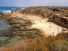 Tel Dor, Israel - Amazing places - For further information, a map, & photos: http://www.amazingplacesonearth.com/