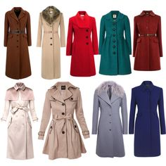 """Soft Classic coats"" by wichy on Polyvore"