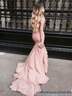 mermaid prom dress #fashion #prom #dresses