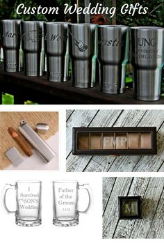 Shop Personalized Wedding Gifts @BlastedBoutique