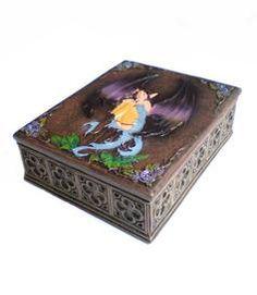 Fairy | Tarot / Jewelry Box Keijurasia koruille tai tarot-korteille 19,20 e