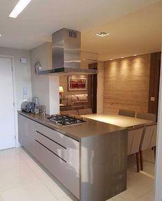 Integrando espaços bem do jeitinho que amamos! Projeto Tati Arquiteta Via @maisdecor_ www.homeidea.com.br Face: /homeidea Pinterest: Home Idea #homeidea #arquitetura #ambiente #espacosintegrados #cozinha #projeto #homestyle #home #homedecor #pontodecor #homedesign #photooftheday #interiordesign #interiores #picoftheday #decoration #revestimento #decoracao #architecture #cozinhaintegrada #inspiration #regram #home #casa #grupodecordigital