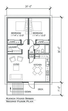 Floor plans on pinterest small house plans house plans Apartment barn plans