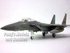 Boeing - McDonnell Douglass F-15 Eagle 1/100 Scale Diecast Metal Model by Amercom