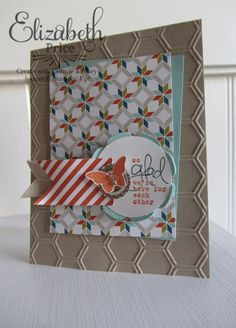Stampin' Up! Card  by Eizabeth Price at Seeing Ink Spots