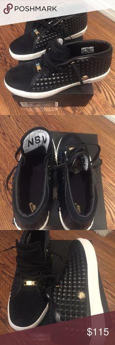 lebron xiii lifestyle black football boots orange nike