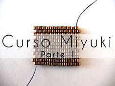 Curso Abalorios - Tecnicas con Miyuki ( Peyote Par ) - parte - Like this way of starting Peyote Seed Bead Tutorials, Beading Tutorials, Peyote Patterns, Beading Patterns, Bead Embroidery Jewelry, Beaded Jewelry, Diy Jewelry Videos, Seed Bead Flowers, Diy Jewelry