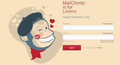 Definitly Mailchimp, you nailed it Geek Chic, Happy Valentines Day, You Nailed It, Web Design, Nerd, Geek Stuff, Family Guy, Branding, Social Media