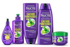 ✅BRASIL - LINHA Cachos Poderosos - Fructis - Cabelos produtos - CABELOS - Garnier +\- oleoso demais