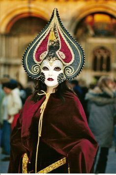 Carnevale in Venice happens in February. Click here to find other reasons to travel to Venice in winter http://mymelange.net/mymelange/2010/02/winter-in-venice.html