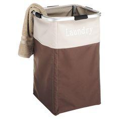 Whitmor Square Laundry Hamper - Java - 3280-5095