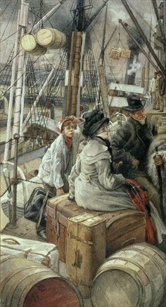 Victorians on the Move, by James Tissot | The Hammock