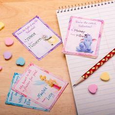 FREE Printable Disney Valentine Cards - Jinxy Kids