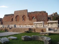 The Roman Odeum of Patras, Greece