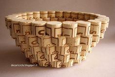 ciotola di tappi di sughero 2 | by decoriciclo