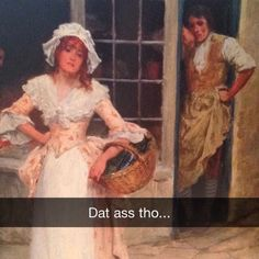 Funny humor inappropriate art history Ideas for 2019 Funny Art, Funny Memes, Hilarious, Funny Pics, Funny Stuff, Funny Pictures, Jokes, Funniest Snapchats, Art History Memes