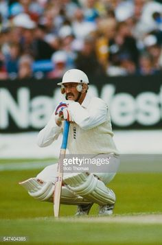 News Photo : England cricketer Graham Gooch during the 1st...