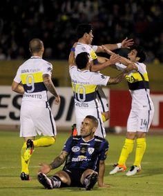 El festejo del equipo argentino (Reuters)
