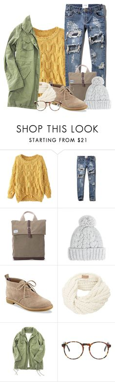 """Ainmere Stanaj"" by glitterxbieber ❤ liked on Polyvore featuring Chicnova Fashion, Abercrombie & Fitch, TOMS, MANGO and Tommy Hilfiger"