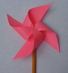 Make your own pinwheel