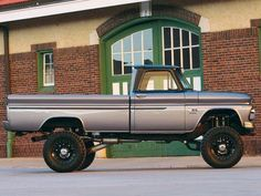 Buy used 1969 CHEVY C10 TRUCK SHORT BED 4X4 LIFTED 350 4 SPD 35 ...
