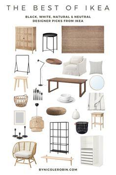 Home Living Room, Living Room Decor, Ikea Home, House Rooms, Room Decor Bedroom, Home Decor Inspiration, Homesense, Interior Design, Black White