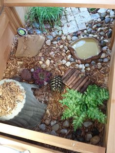 Indoor enclosure. Tortoise house by ZooMed