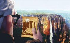 Up - Angel Falls, Venezuela.