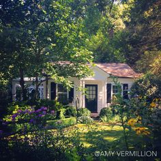 Guest House in an English Cottage Garden- Amy Vermillion