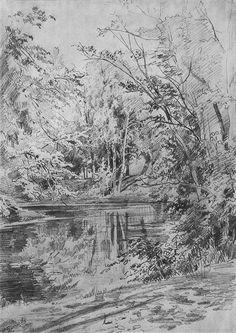 Pond Ivan Shishkin