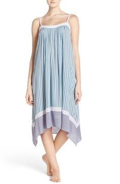 DKNY Print Midi Chemise available at #Nordstrom