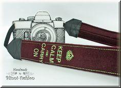 Kameraband  Kameragurt für Spiegelreflexkamera von BlinniFashion, €34.90