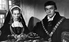 Paul Scofield and Wendy Hiller in A Man for All Seasons