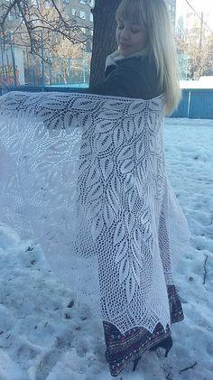 Ravelry: Spring Wood Shawl pattern by Denise Bartels