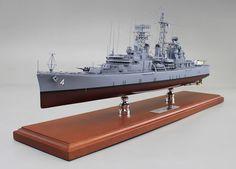 26 inch model of USS Little Rock.