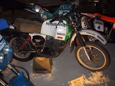 Yamaha XT 500 534cc 1cil. 39cv 148kg 150km/h de Cyril Neveu 1979-1980: