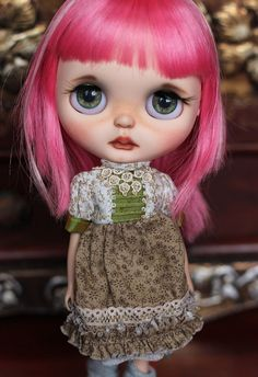OOAK Custom Blythe Art Doll *Grace*~ by Beyourdolls - Reserved second payment…