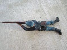 Österreichischer Soldat liegend 1. Weltkrieg (**TOP**) 10,5 cm Elastolin Lineol | eBay