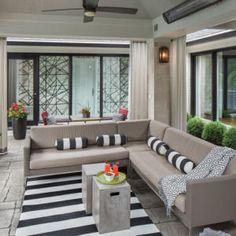 Home Of The Month: Williams Creek – Indianapolis Monthly Outdoor Furniture Sets, Outdoor Decor, Window Treatments, Indiana, Windows, Curtains, Design, Home Decor, Blinds