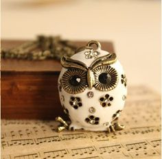 Owl necklace I have this :) birthday present from a lovely friend