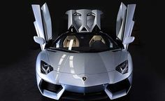 Lamborghini Aventador Roadster Priced from $441,600. For more, click http://www.autoguide.com/auto-news/2012/11/lamborghini-aventador-roadster-priced-from-441600.html