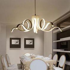Candid Led Modern Chandelier Lighting Novelty Lustre Lamparas Colgantes Lamp For Bedroom Living Room Luminaria Indoor Light Chandeliers Chandeliers